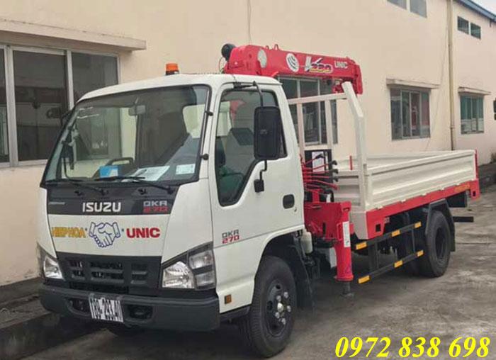 xe cẩu tự hành 2.5 tấn isuzu
