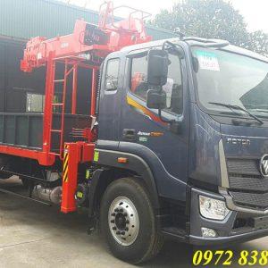 Xe tải Auman C160 gắn cẩu Kanglim 5 tấn