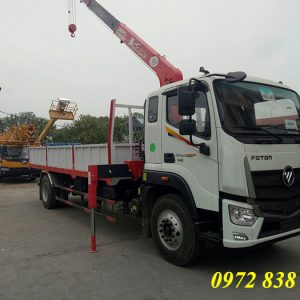 auman c160 gắn cẩu unic 3 tấn