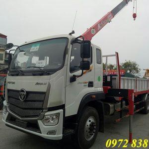 Thaco Auman C160 gắn cẩu Unic 3 tấn