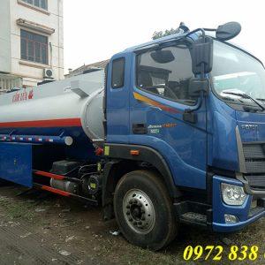 xe bồn chở xăng dầu 12 khối auman c160