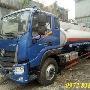 xe bồn chở xăng dầu thaco auman c160