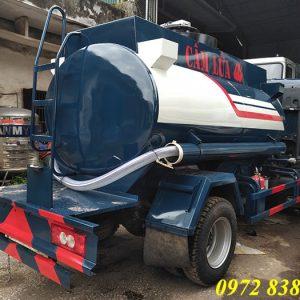 xe bồn chở xăng dầu ollin 350 4 khối