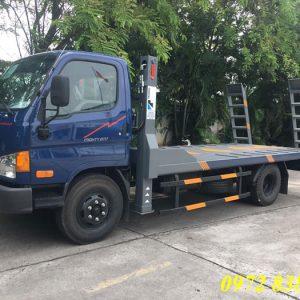 xe nâng đầu chở máy công trình hyundai mighty 2017