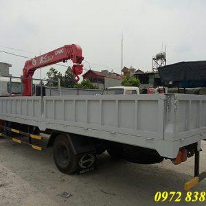 xe tải hino fc gắn cẩu unic 3 tấn