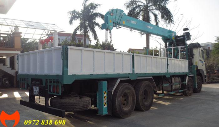 hd320 gắn cẩu hktc 10 tấn