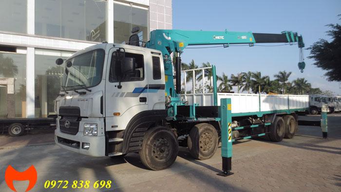 hyundai hd320 gắn cẩu 10 tấn hktc hlc 10015s