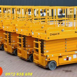 xe nâng người 14m haulotte compact 14