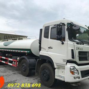 xe phun nước rửa đường 17 khối dongfeng