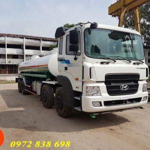 xe phun nước rửa đường 17 khối hyundai hd320