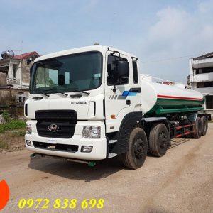 xe phun nước rửa đường hyundai hd320