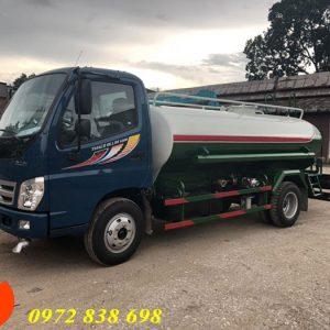 xe phun nước rửa đường thaco ollin 500b