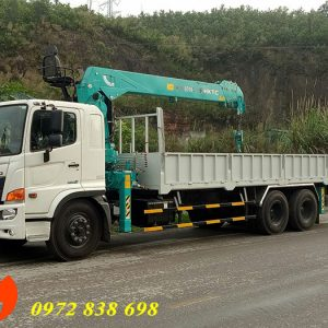 xe tải Hino FM gắn cẩu hktc 7 tấn