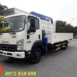 xe tải isuzu gắn cẩu 3 tấn tadano