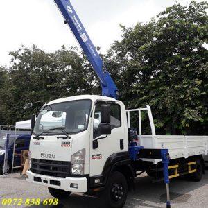 xe tải isuzu gắn cẩu tadano 3 tấn
