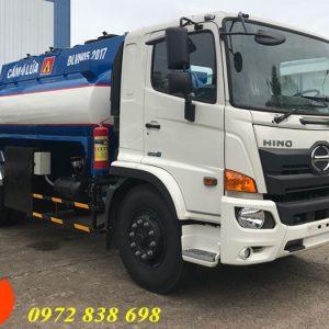 xe bồn chở xăng dầu 11 khối hino
