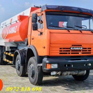 xe bồn chở xăng dầu 25 khối kamaz