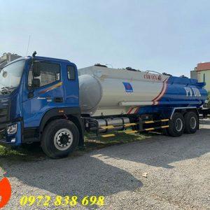 xe bồn chở xăng dầu auman c240 18 khối