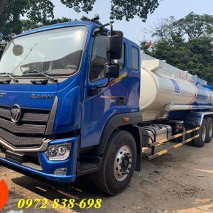 xe bồn chở xăng dầu auman c240