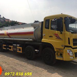 xe bồn chở xăng dầu dongfeng 22 khối