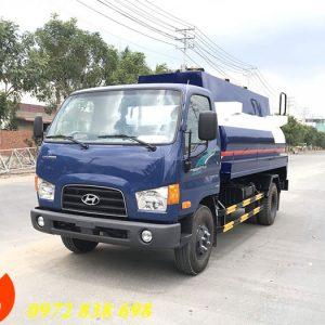xe bồn chở xăng dầu hyundai 110s