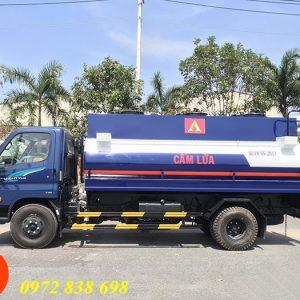 xe bồn chở xăng dầu hyundai 110s 9 khối