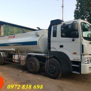 xe bồn chở xăng dầu hyundai 22 khối
