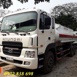 xe bồn chở xăng dầu hyundai hd260