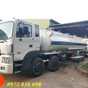 xe bồn chở xăng dầu hyundai hd320
