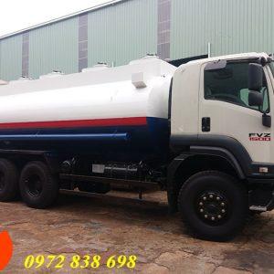 xe bồn chở xăng dầu isuzu fvm34te4