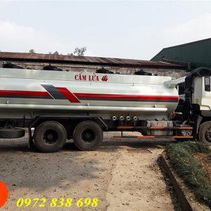xe bồn xăng dầu 17 khối hyundai hd260