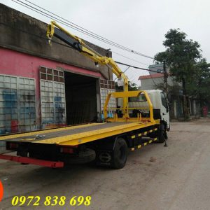 xe cứu hộ 3 chức năng hino gắn cẩu gập hyva 2 tấn
