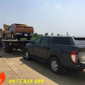 xe cứu hộ dongfeng 8 tấn gắn cẩu gập xcmg