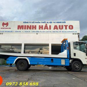 xe cứu hộ giao thông isuzu 2.5 tấn