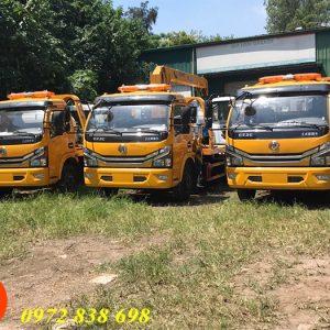 xe cứu hộ giao thông sàn trượt dongfeng 3.5 tấn