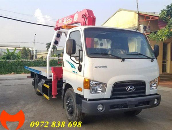 xe cứu hộ hyundai 110s gắn cẩu 3 chức năng