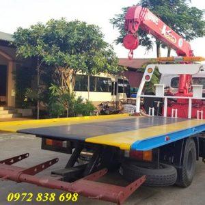 xe cứu hộ hyundai 110s gắn cẩu unic 3 tấn