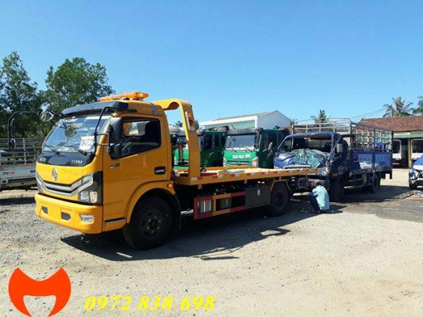 xe cứu hộ sàn trượt 3.5 tấn dongfeng