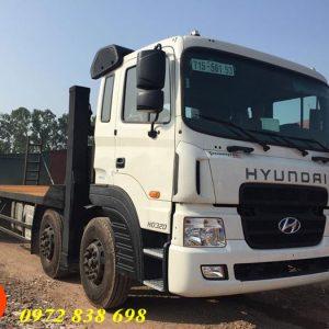 xe nâng đầu chở máy công trình hyundai hd320
