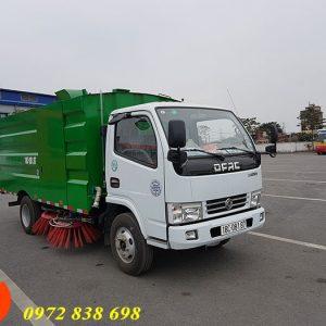 xe quét rác hút bụi đường 3 khối Dongfeng