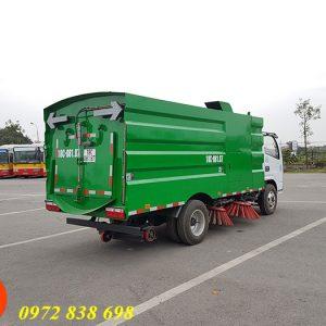 xe quét rác hút bụi đường dongfeng 3 khối