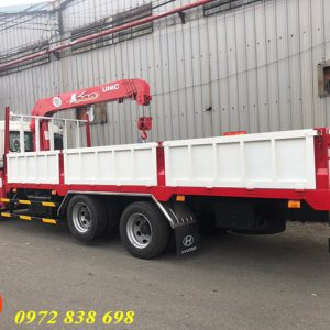 hyundai hd240 gắn cẩu 3 tấn unic