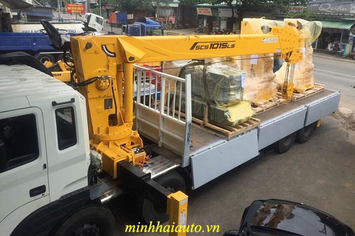 cẩu soosan 10 tấn