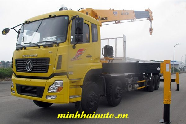 cẩu soosan 15 tấn