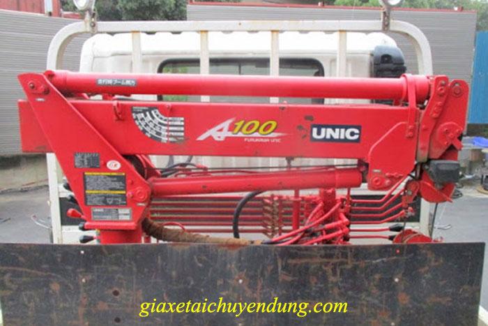 xe cẩu tự hành 1 tấn