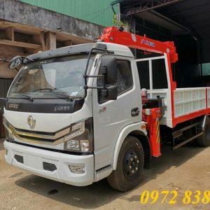 xe dongfeng gắn cẩu kanglim 3 tấn