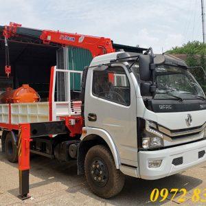 xe tải dongfeng gắn cẩu kanglim 3 tấn